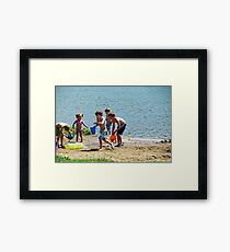 Sneak Attack Framed Print