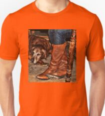 Boots and Buddy Unisex T-Shirt