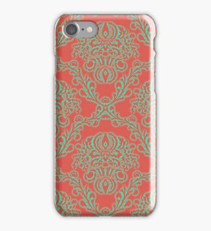 autumn art nouveau iPhone Case/Skin