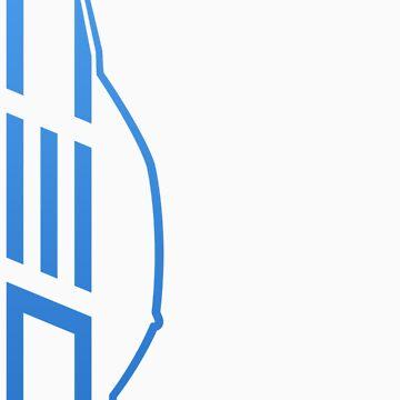 Club Evo Owners - Large Logo (Blue) by jamezluv