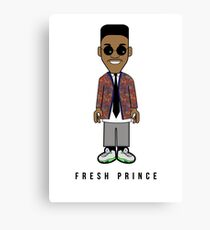 Prince School'n Canvas Print
