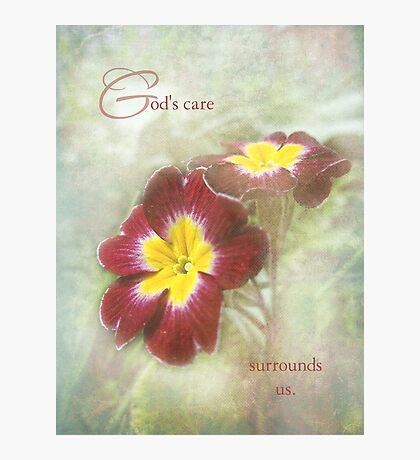 God's care Photographic Print