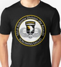 101st Airborne Screaming Eagles Unisex T-Shirt