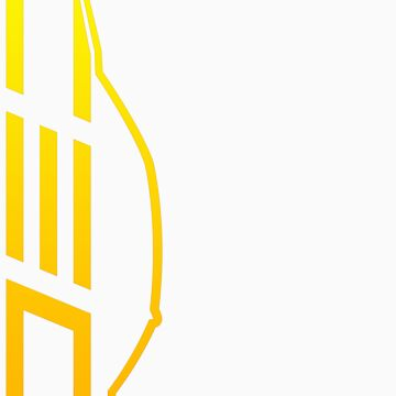 Club Evo Owners - Large Logo (Yellow) by jamezluv