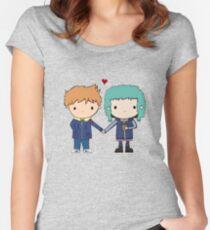 Scott Pilgrim - Scott and Ramona Women's Fitted Scoop T-Shirt