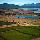 moulting lagoon, the hazards. eastcoast, tasmania by tim buckley   bodhiimages