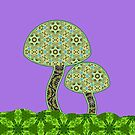 Blooming Shrooms by TrippyCat