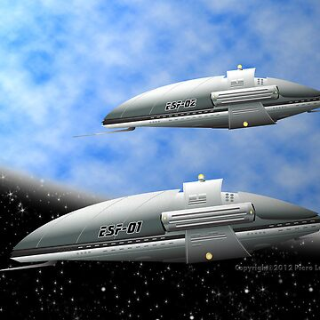 Space Destroyers by Piero