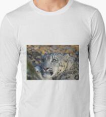 Snow Leopard. Long Sleeve T-Shirt