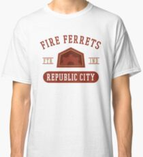Republic City's Fire Ferrets (Red) Classic T-Shirt