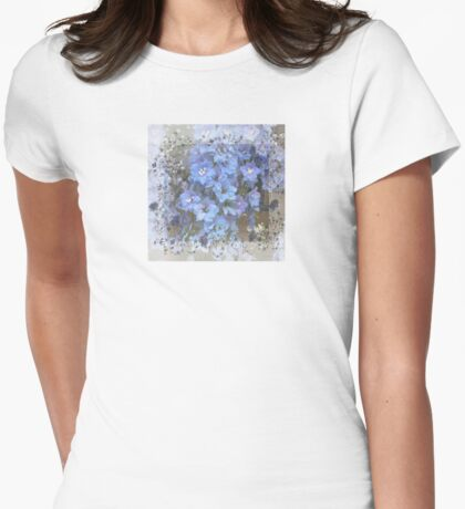 Flowers in Blue For You T-Shirt