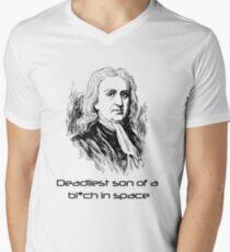 Mass Effect Isaac Newton is deadly T-Shirt