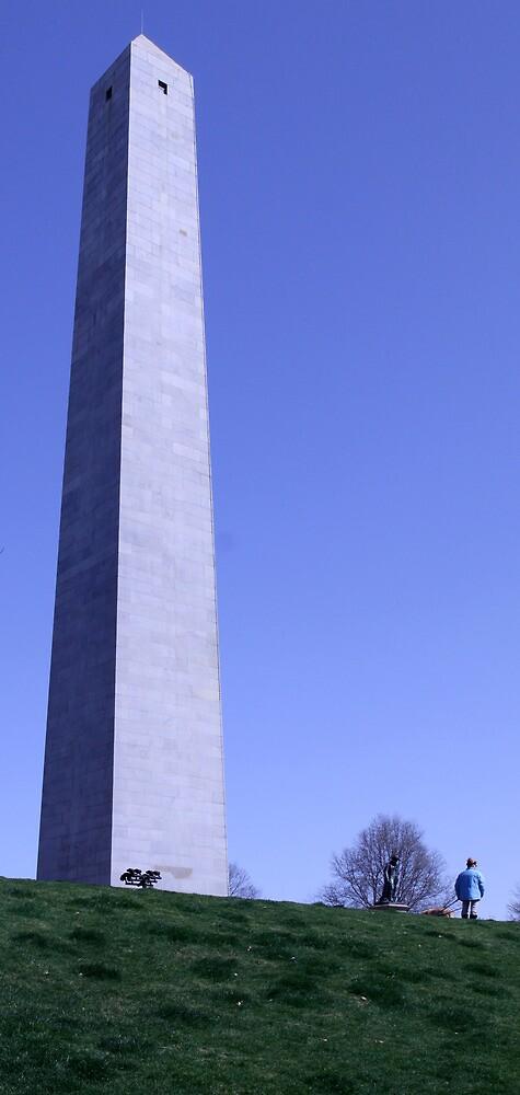 Bunker Hill Monument, Boston by Jane McDougall