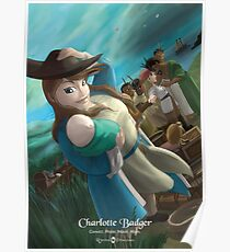 Charlotte Badger - Rejected Princesses Poster