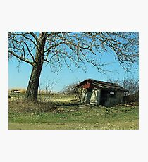Abandoned in the Shade Photographic Print