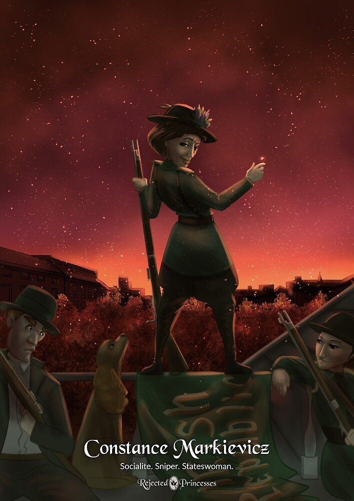 Constance Markievicz - Rejected Princesses by jasonporath