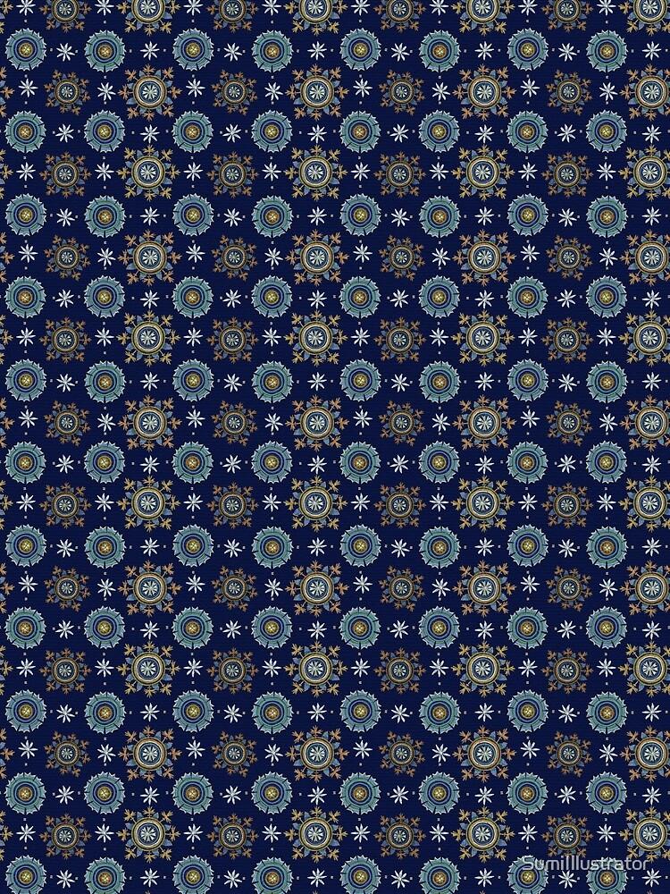 Byzantine blue Empire by SumiIllustrator
