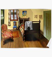 homage to van gogh's 'bedroom at arles' Poster