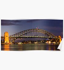 Sydney Harbour Bridge, Australia Poster