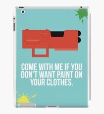 Community Paintball Print iPad Case/Skin