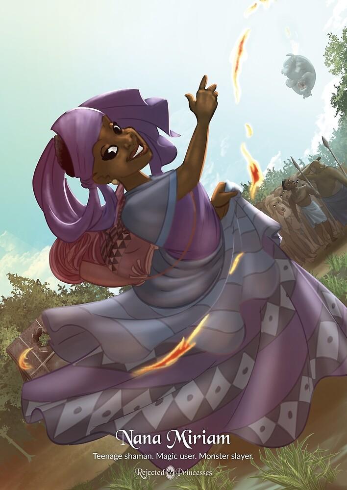 Nana Miriam - Rejected Princesses by jasonporath
