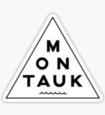 Montauk Triangle  Sticker