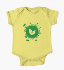 Grow Greens on Earth One Piece - Short Sleeve