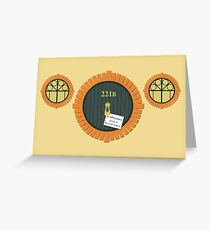 221B Bag End Greeting Card