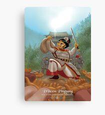 Princess Pingyang - Rejected Princesses Canvas Print