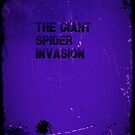 Giant Spider Invasion iphone case by Margaret Bryant