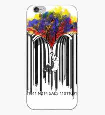 unzip the colour wave iPhone Case