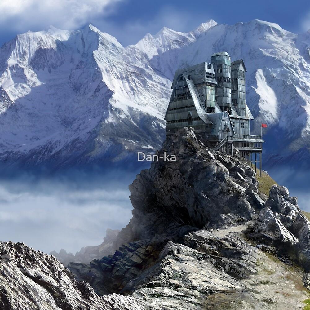 The Giant Blue Palace by Daniele (Dan-ka) Montella