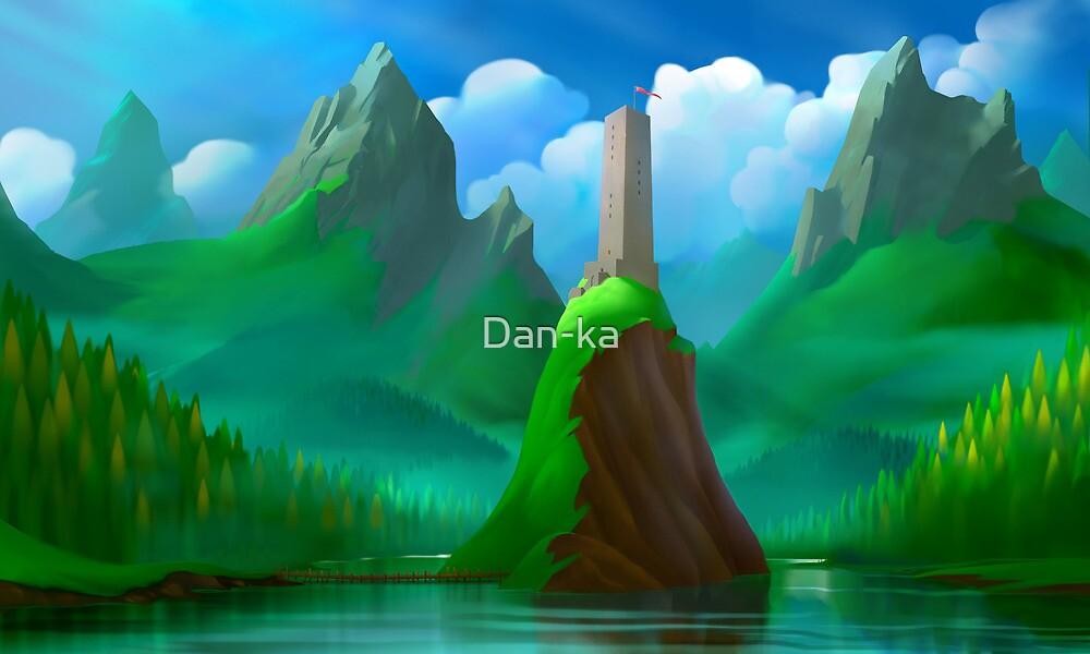 Cartoon valley by Daniele (Dan-ka) Montella