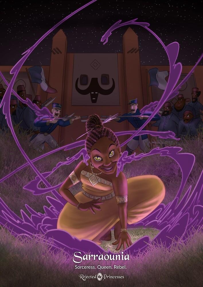 Sarraounia - Rejected Princesses by jasonporath