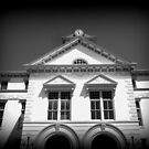 Quitman, GA Courthouse in B&W by Debbie Robbins