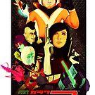 Galak-Z Vintage Poster by Lopesco