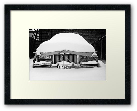Snow on Car by Paul Politis