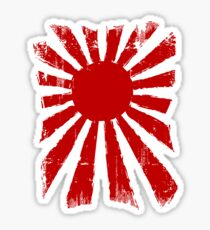 Japan Rising Sun Sticker
