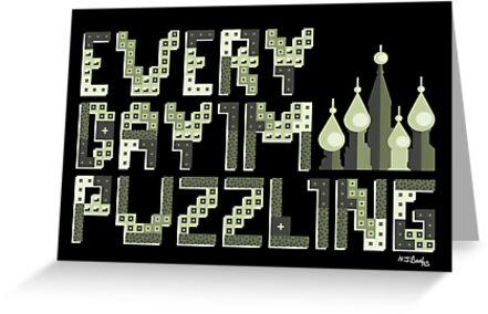 Tetris Puzzling Original by Nicholas Beales