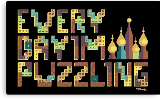 Tetris Puzzling Retro by Nicholas Beales