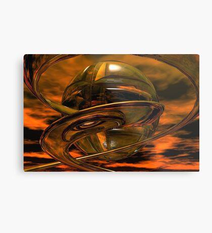 Caterpillar & Butterfly #1 Metal Print