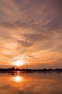 Zambezi sunset by Explorations Africa Dan MacKenzie