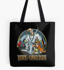 Worm of Grooviness Tote Bag