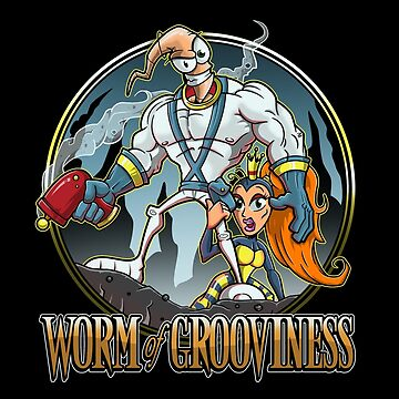 Worm of Grooviness by JakGibberish