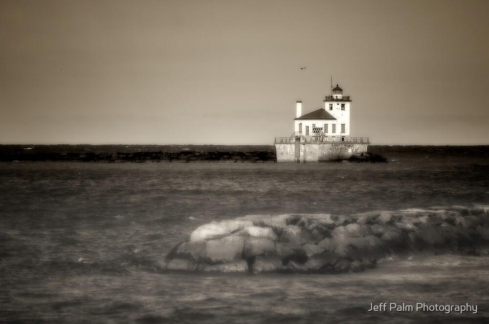 Oswego West Pierhead Lighthouse by Jeff Palm Photography
