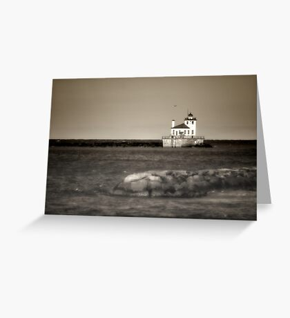 Oswego West Pierhead Lighthouse Greeting Card