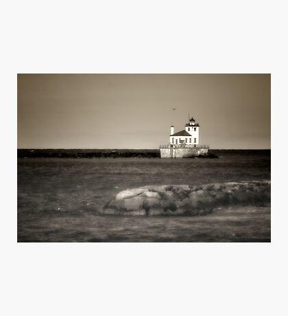 Oswego West Pierhead Lighthouse Photographic Print