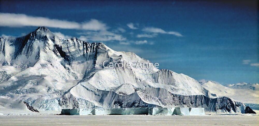 Transantarctic Range by Carole-Anne