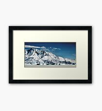 Transantarctic Range Framed Print