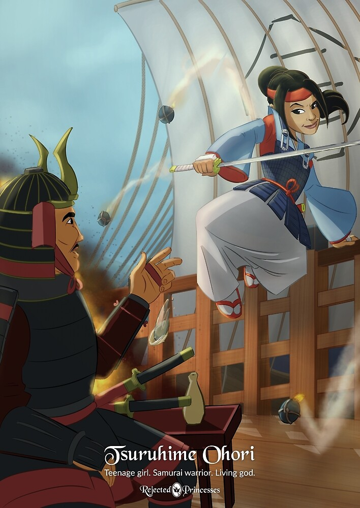 Tsuruhime Ohori - Rejected Princesses by jasonporath